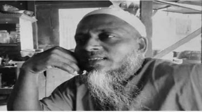 উজিরপুরের গুঠিয়ায় মোটরসাইকেলের ধাক্কায় মসজিদের ইমাম হালিম হুজুর নিহত
